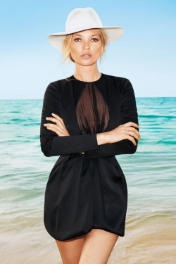 Kate Moss in Harper's Bazaar June 2012