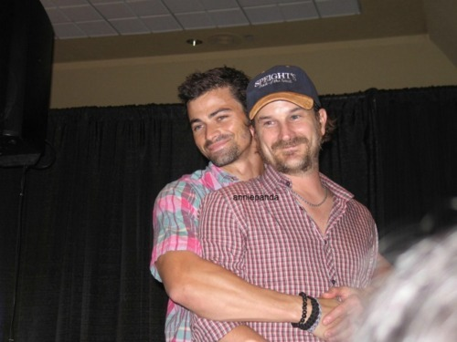 05 Favorite Co-Stars 2) Richard Speight Jr. & Matt Cohen I think these two are the embodiment of too precious for words.  Yes I understand that these two had no screen time what so ever so calling them Co-Stars might not be accurate, and I'm willing to live with that.