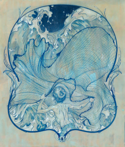 wasbella102:  James Jean: Wave II
