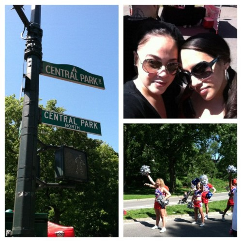 We're half way there… on the way back with @drdz1 #PicFrame #aidswalk2012 #nyc #iphoneography #iphoto #sunday #centralpark #2012 #aidswalk #instagram  (Taken with Instagram at Central Park - 110th St Playground)