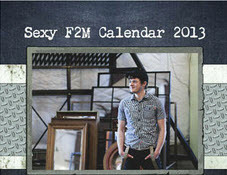 The Sexy F2M Calendar is on sale now! http://www.lulu.com/shop/aaron-bain-and-dexter-thomas/sexy-f2m-calendar/calendar/product-20134800.html