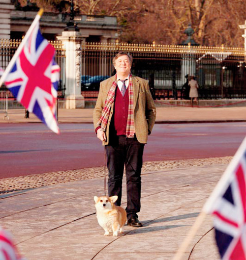 dreworionsmith:  Pretty sure Stephen Fry wins at being british.   definitely winning.