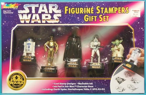 Star Wars Figurine Stamps, RoseArt, 1997