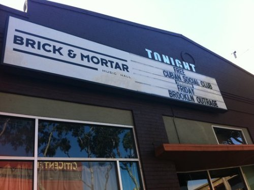 Tonight: [Comedy] Funny Shits @ Brick & Mortar Music Hall. 1710 Mission St. SF. Free. 6PM. Featuring Stefani Silverman, Kevin Munroe, Oscar Michel, Daryus Monday, Jesse Elias, DJ REAL, Cory Loykasek, Anna Seregina, and Chris Thayer. Hosted by Sean Kelly.