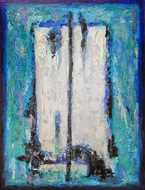 crystal blue 2005 Norman Engelprivate collection