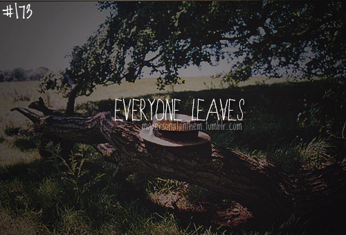 #173. Everyone leaves