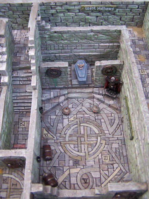 The Crypt of the Sorcerer.