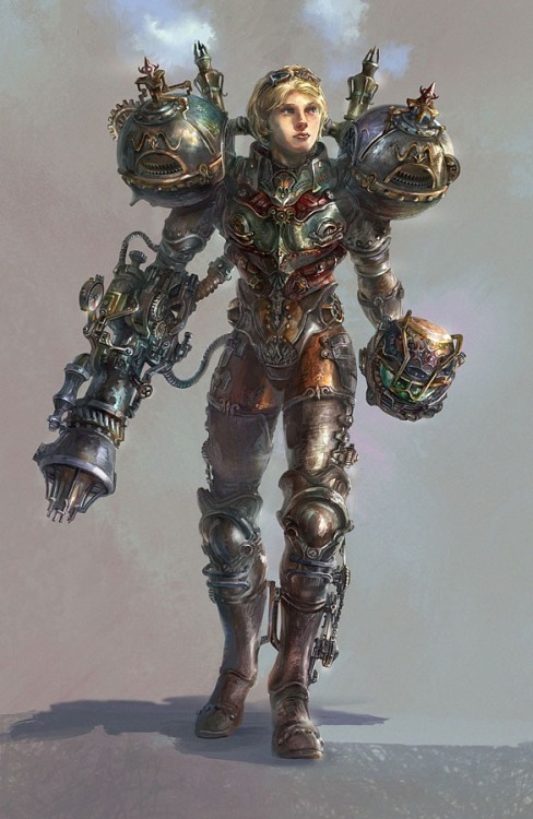 svalts:  Steampunk Samus Created by Jason Cheng