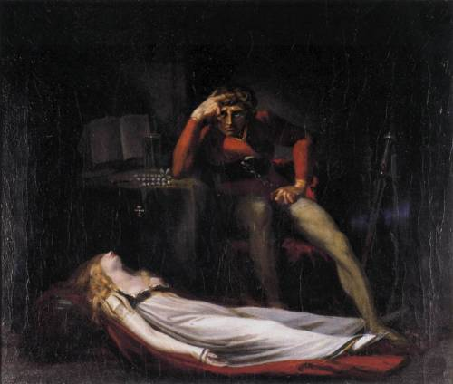 18thcentury:  Ezzelin and Meduna - John Henry Fuseli1779   99 problems…