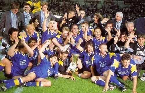 The last time Juventus won the Coppa Italia (and did the double) back in 1995