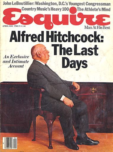 Pictured above: Sir Alfred Hitchcock, after he dies, he'll be haunting the shit out of you.