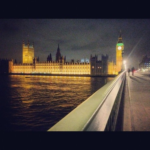 Big ben at night #bigben #parliament #night #iconic #england #london  (Taken with Instagram at Big Ben)