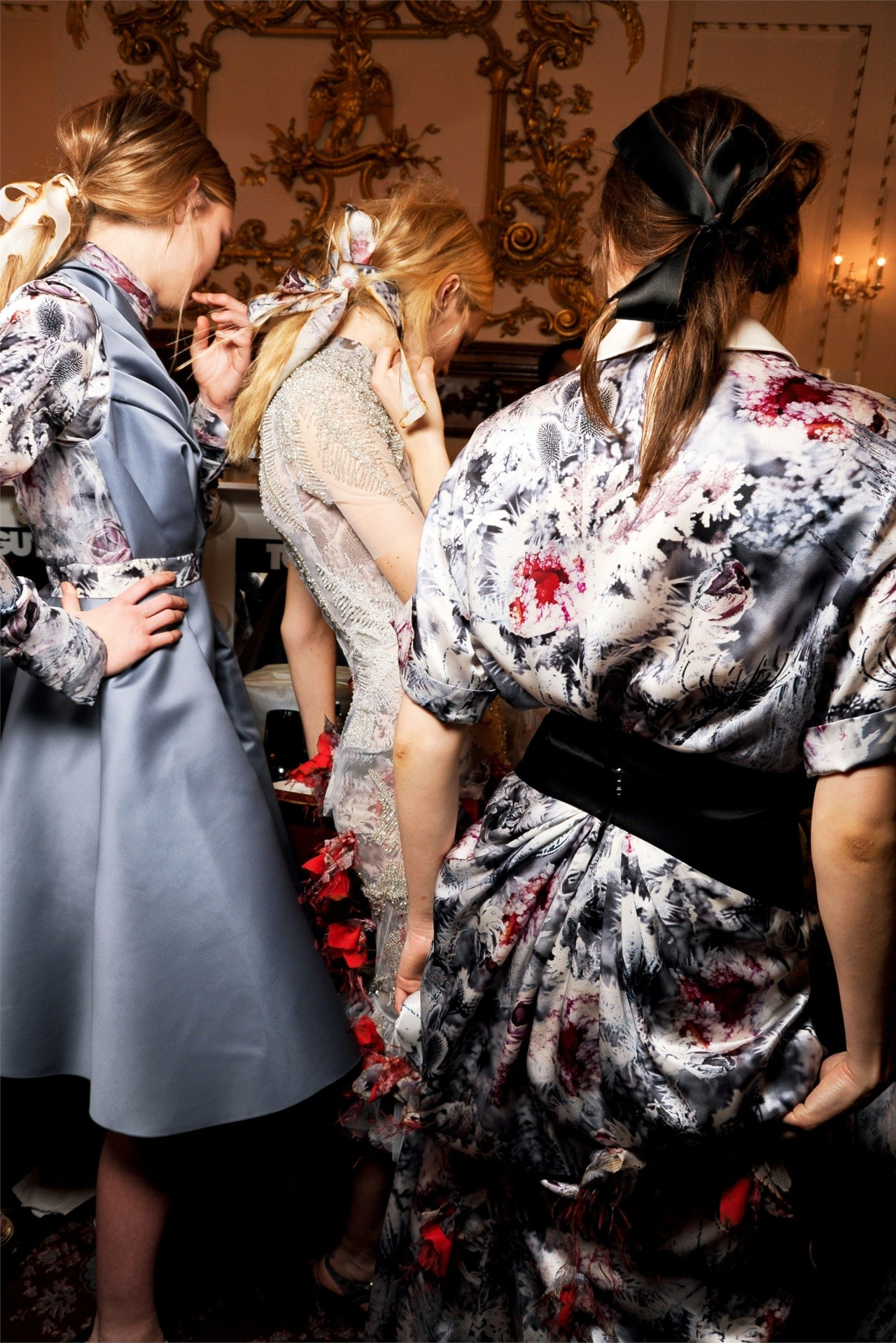 Backstage at Giles, Fall 2012