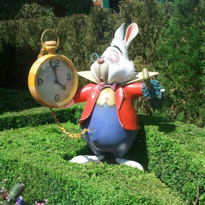 we're there! in wonderland! :) #disneyland #paris #alice #wonderland @eraydengiz @cerenocmen  (Taken with instagram)