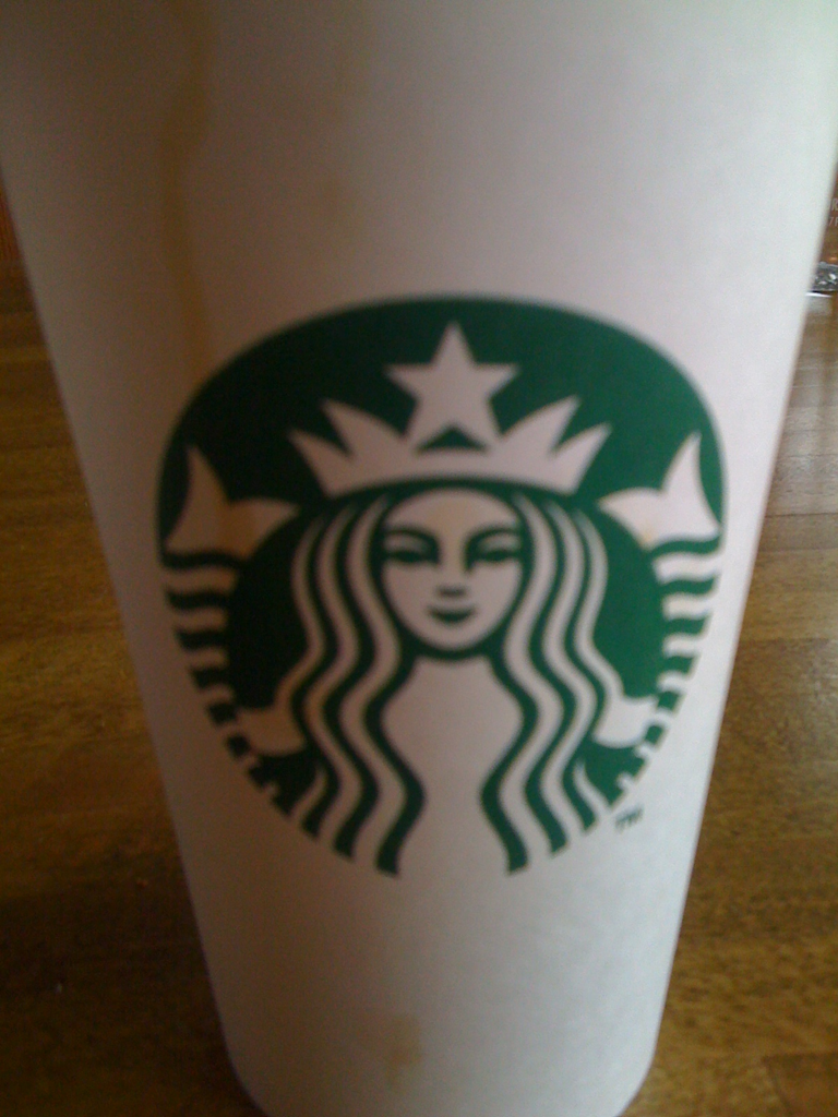 Starbucks, need to come here more often.