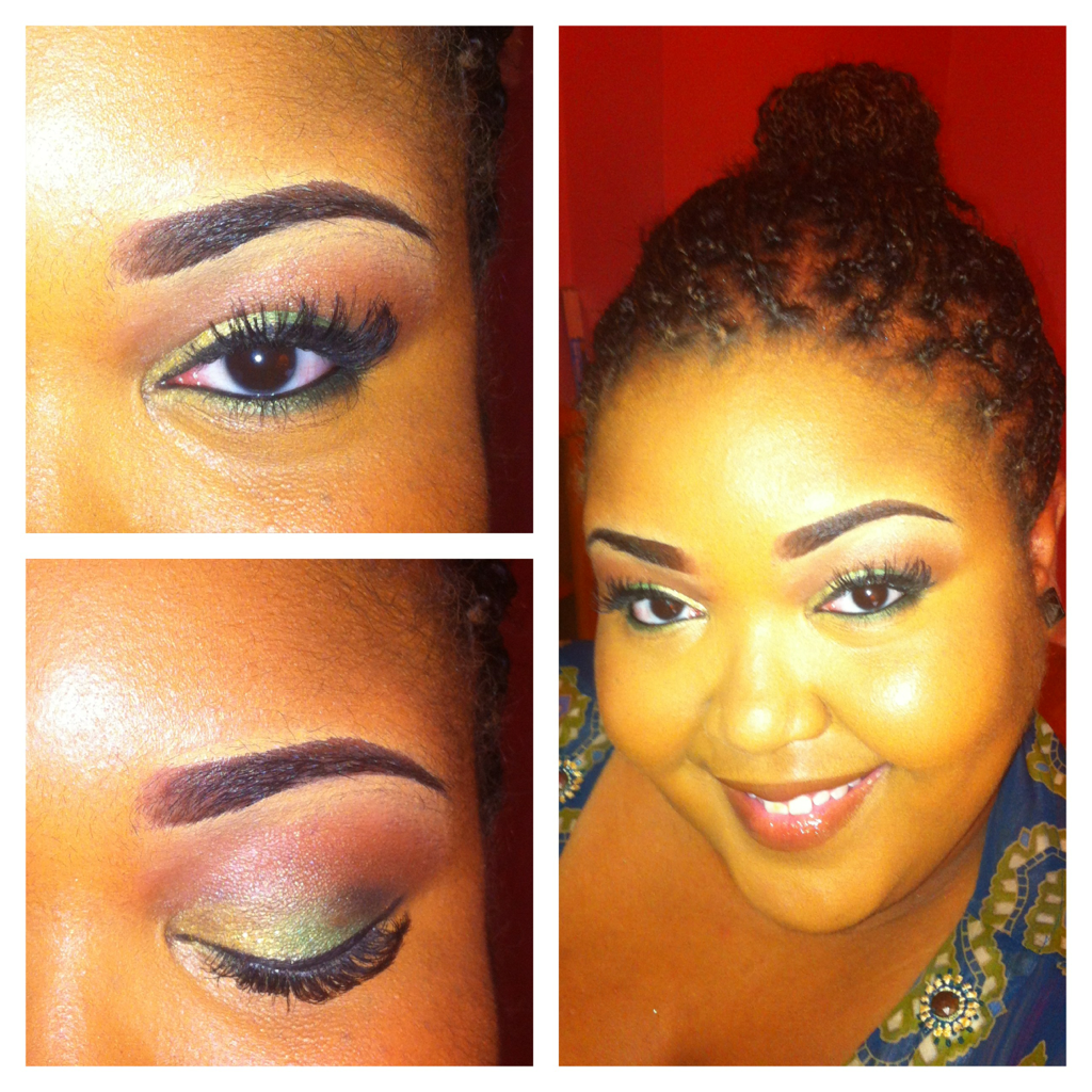 Today's makeup, 5/20/12