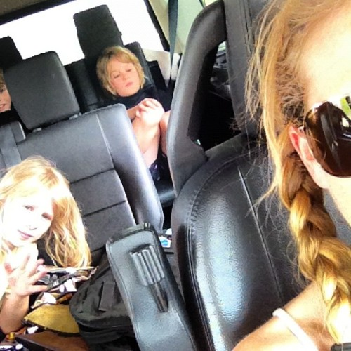 Beach bound.  (Taken with instagram)