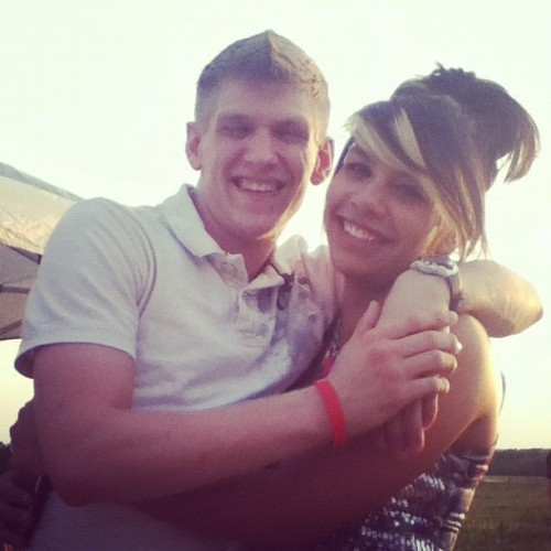 Me and my Caucasian Brotha Lee! Love you (: (Taken with instagram)