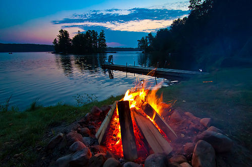 gofuckingnuts:  love life campfire lake, night, photography, stars, vyer - inspiring picture on Favim.com on We Heart It. http://weheartit.com/entry/28685006