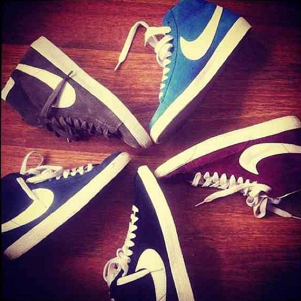 #NikeBlazers 😍 (Taken with instagram)
