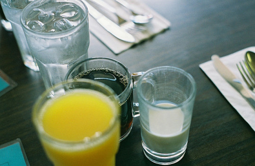 healthysoul:  Breakfast. On film. by m a y a* on Flickr.