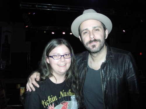 #10: Meet Greg Laswell - Checked off the list!!! :D My first item checked off the list! So excited! Will write an actual entry about it… but here's the picture as proof!