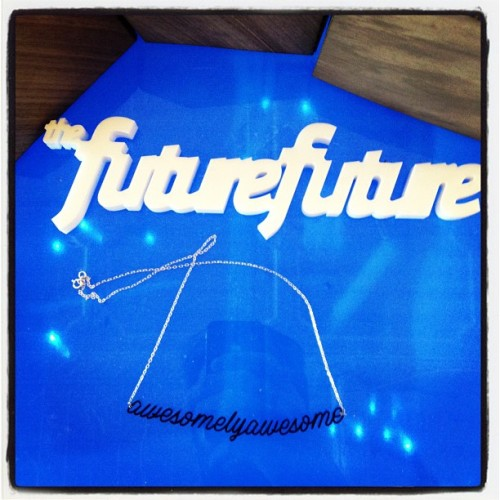 @thefuturefuture is awesomelyawesome (Taken with Instagram at Model Citizens 2012)