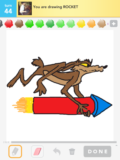 Drawsomething: Rocket