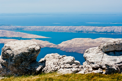 vladimirvince:  Island of Pag, shot from National Park Northern Velebit, Croatia. 2012