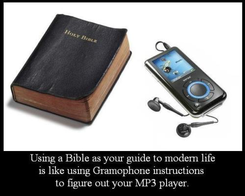 atheistbase:  Bible as a guide http://bit.ly/JIcPbl