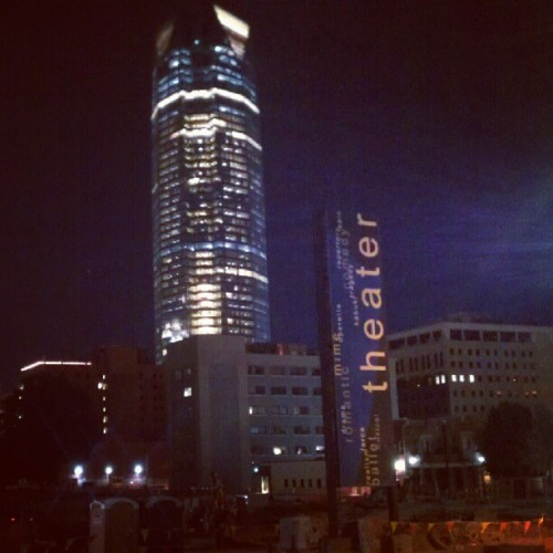OKC night (Taken with instagram)