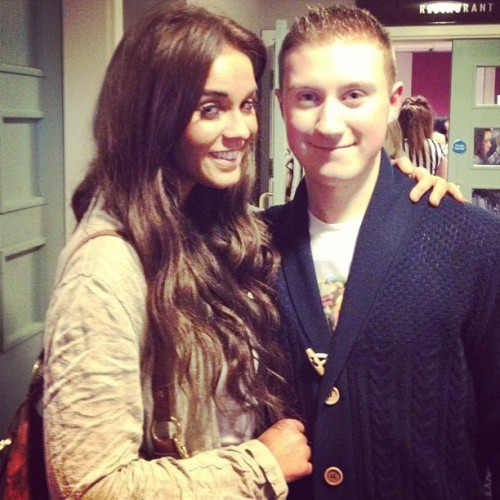 Me and #Vicky from #geordieshore! #mtv #beautiful  (Taken with instagram)