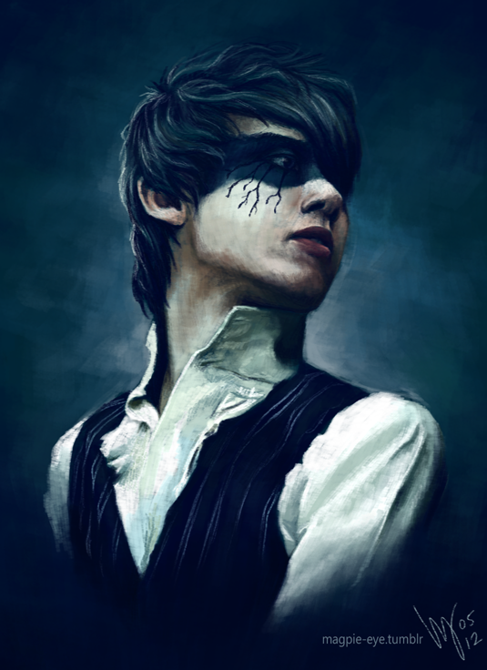 "magpie-eye:   Ryan Ross, Panic! at the Disco. Its been a while since I painted P!atD - one of my very first uploads was a painting of Brendon Urie :3 I got a new screen recorder, so I thought I should do a quick (2 hour) painting to try it out, and then speed it up into 2 minutes. However, tumblr is being a twat and the video is stuck in ""processing"" whatever the hell that means :/ I will post a link to the video here when tumblr finally gets its shit together…"