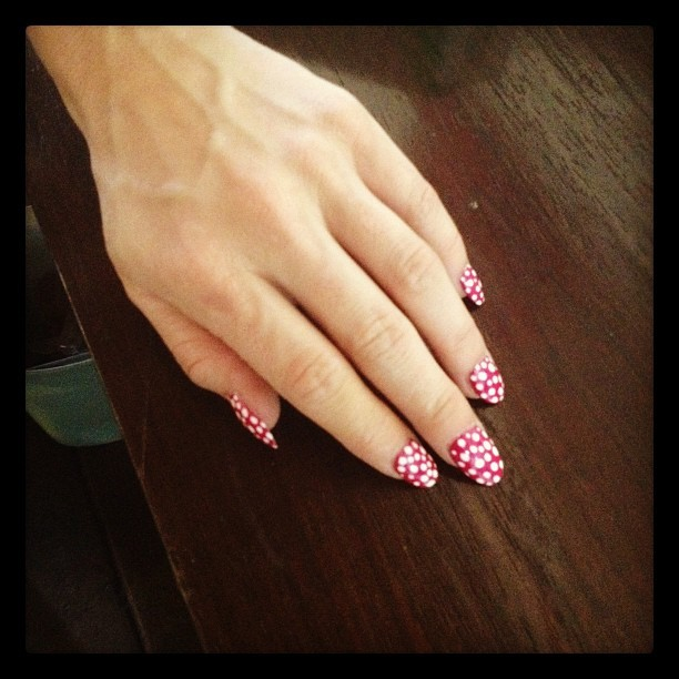 How cute are @kymjane420 nails (Taken with instagram)