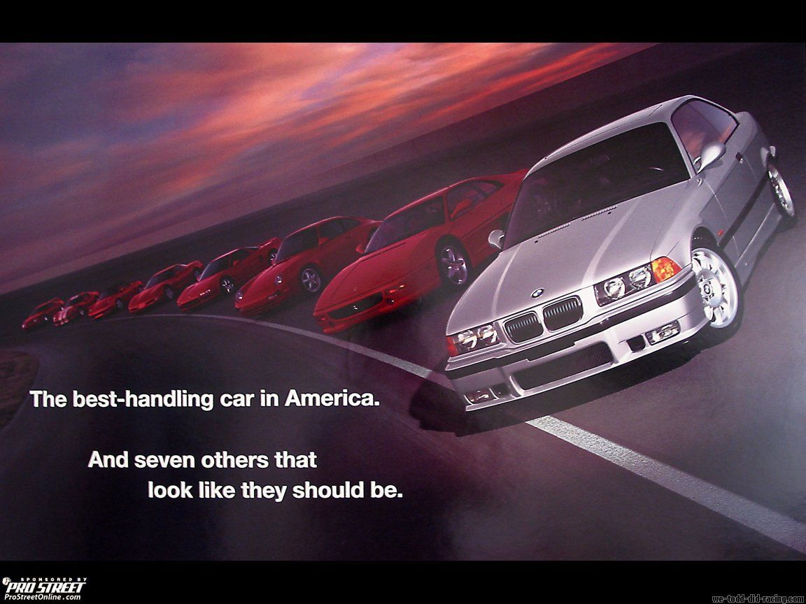 BMW's M Division celebrates 40th anniversary in May. Automotive Advertising Blog announces a full week of high performance ///M advertising!