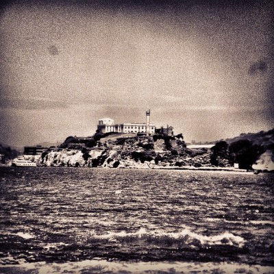 oh-so-coco:  I spy #ALCATRAZ!  (Taken with instagram)