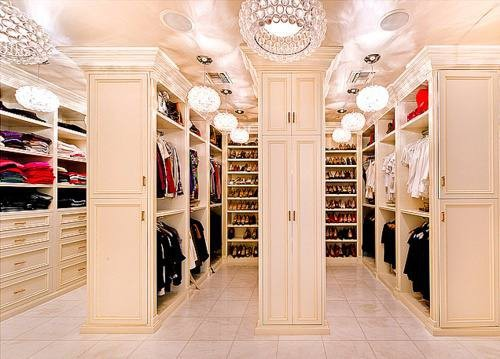 The closet of a dream….Keep creating your reality!