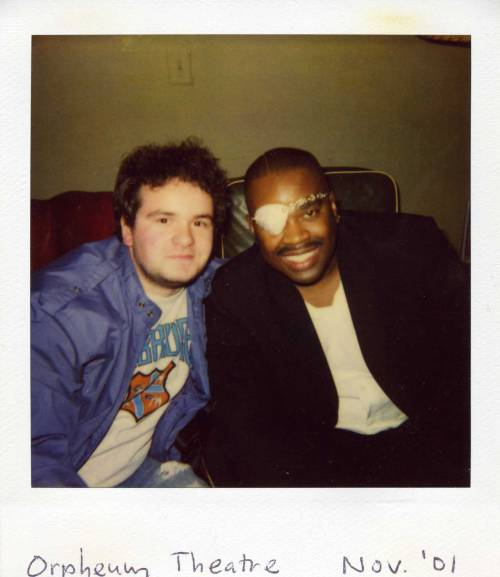 newwork:  Me And Slick Rick Backstage At The Orpheum, 2001