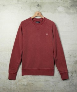 wishlist:fred perry,overdyed crew neck sweat,£80