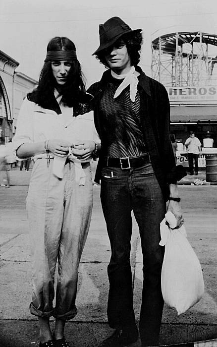 soulsofthesun:  Patti Smith & Robert Mapplethorpe. Two of the greatest humans ever, together.