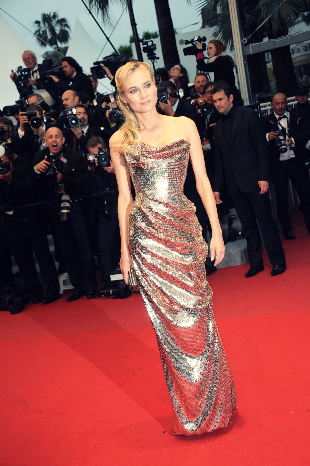 uknowyoulovefashion:  Diane Kruger in Vivienne Westwood at Cannes 2012