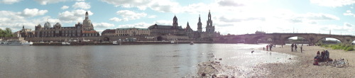 Some pictures of Dresden. My dorm room and a view from my room.