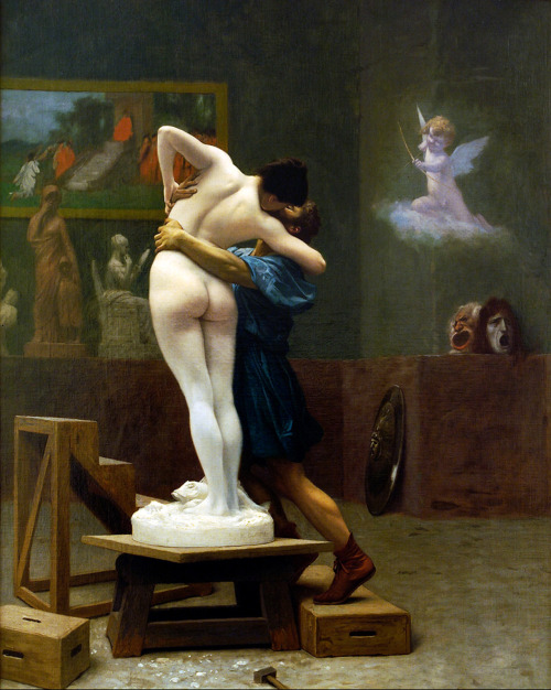 deadpaint:  Jean-Léon Gérôme, Pygmalion and Galatea