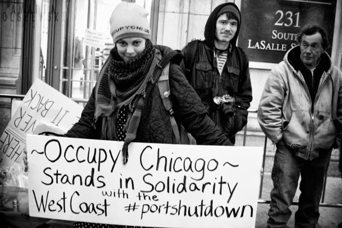 December 12th [in solidarity with] West Coast Port Shut Down
