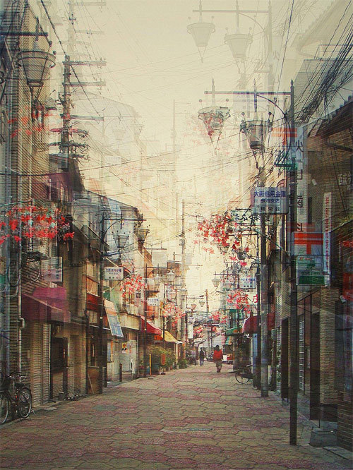 cjwho:  Multiple exposure photographs by Stephanie Jung