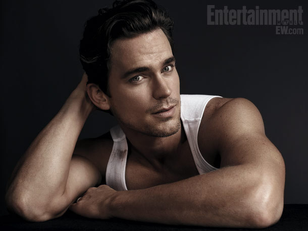 Matt Bomer just being his stunning self in a new pic from the EW photoshoot of future greatest movie of all time,Magic Mike. Many more shots of all the boys over at SquareHippies