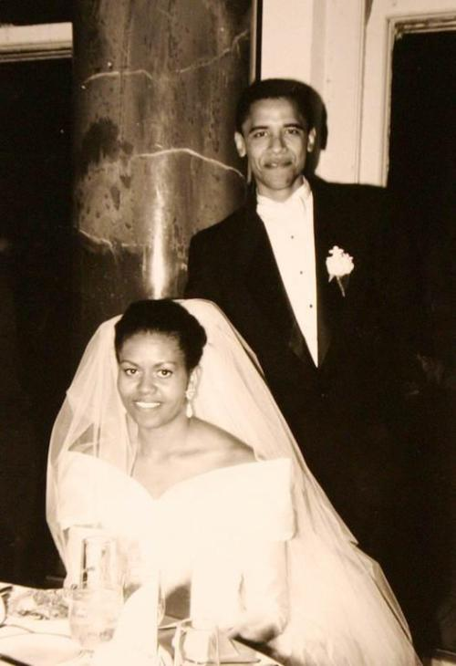 camerican-dreamer:  Mr. & Mrs. Obama :)