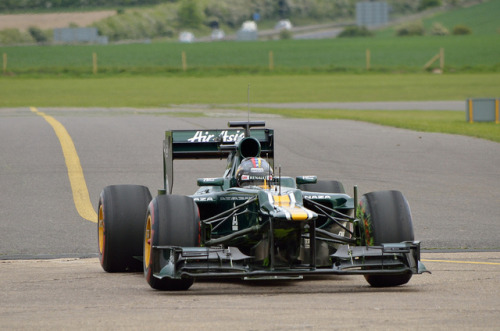 Caterham F1 Team Aero Test at Duxford, a set on Flickr.Photos from the Caterham F1 aero test at Duxford on the 17th May 2012