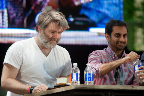 James Murphy is turning into Kenny Rogers or Santa Claus.