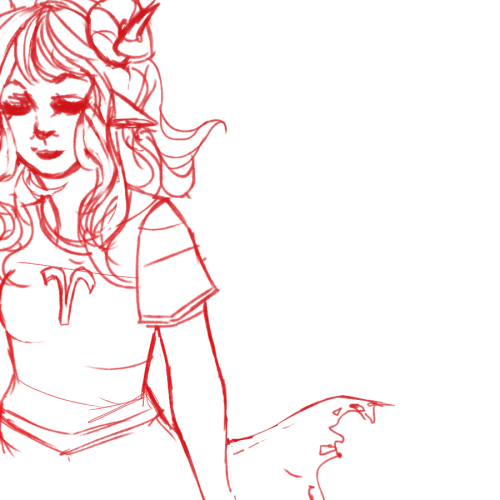 the amount of aradia on my dash at the moment compelled me to doodle her i need more aradia in my life